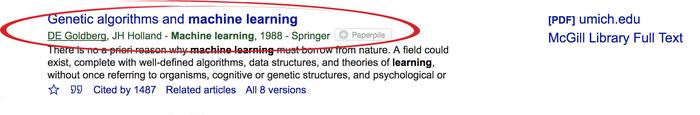 کار با گوگل اسکولار