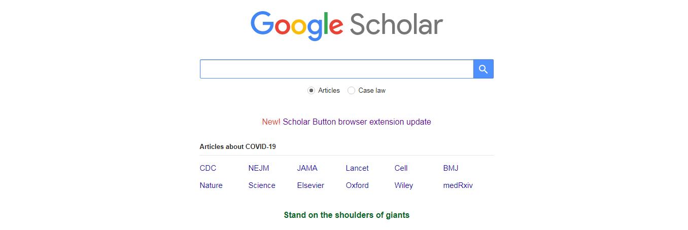 گوگل اسکالر چیست
