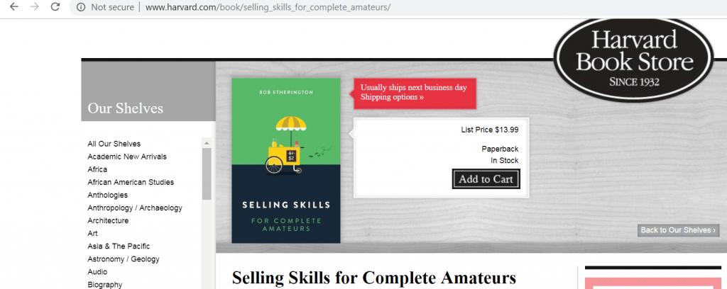 مهارتهای فروش برای کاملا آماتورها